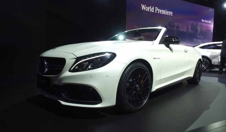 Mercedes-AMG C63 descapotable