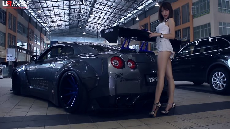 Miko Wong y nissan gtr
