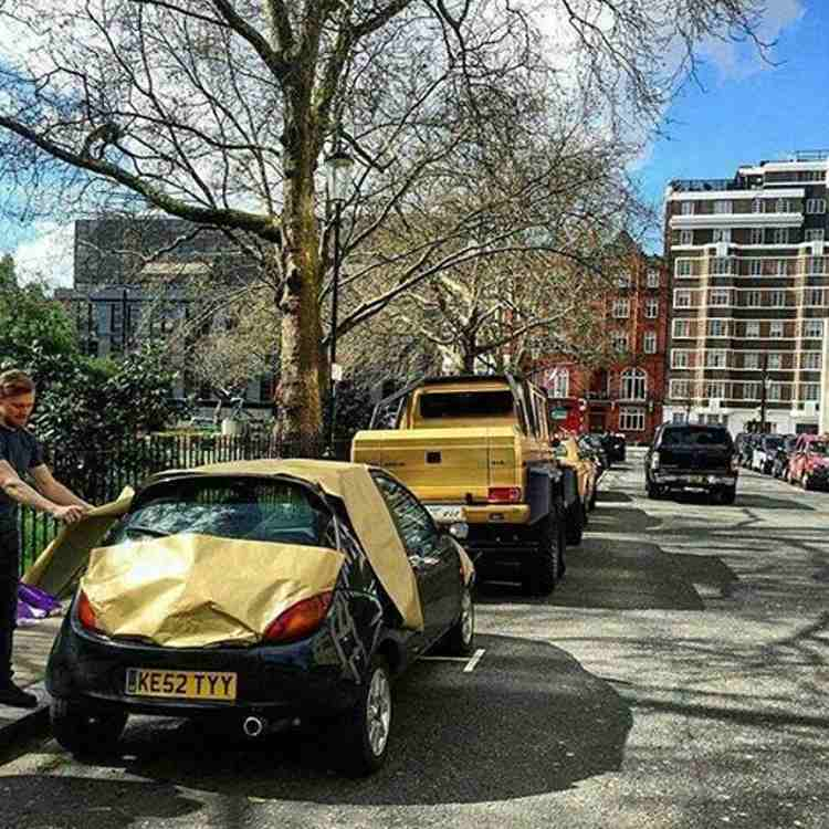 ford ka trolleo coches de oro londres