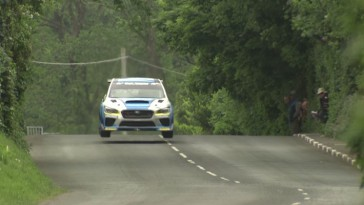 Mark Higgins record isla de man subaru