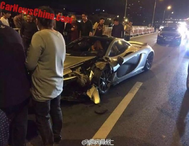 McLaren P1 accidente