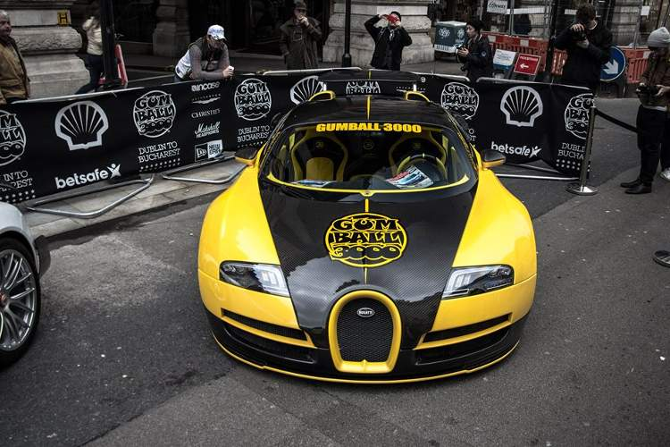 Gumball 3000 londres fotos coches