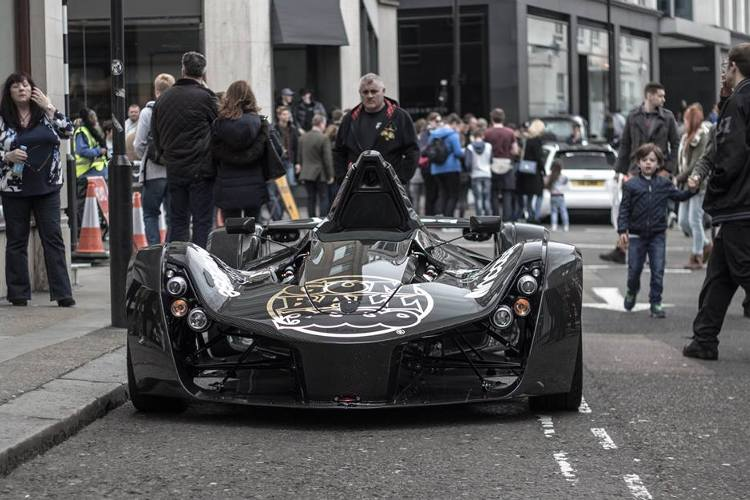 coches Gumball 3000 londres
