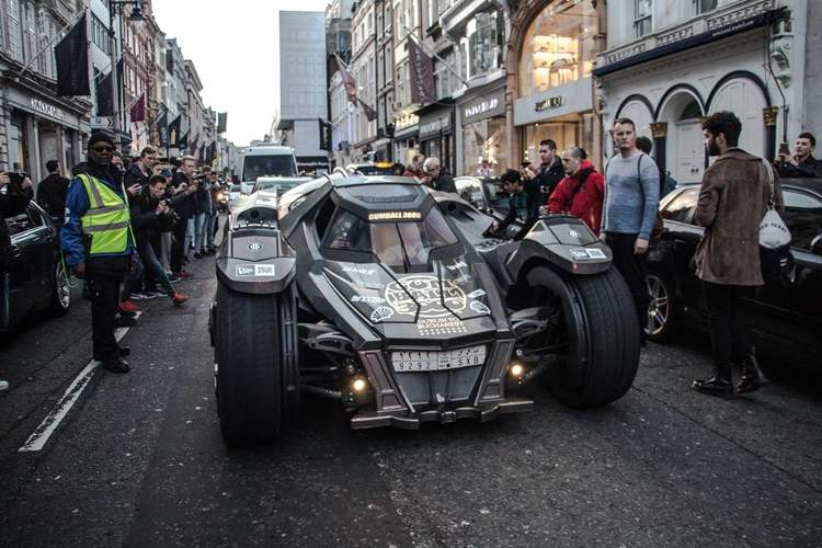 fotos coches Gumball 3000 2016