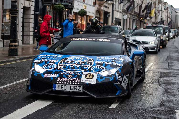 super coches Gumball 3000